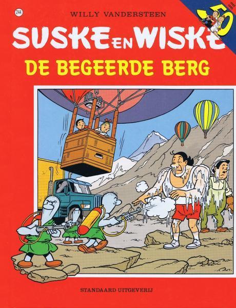 Suske en Wiske 244 De begeerde berg