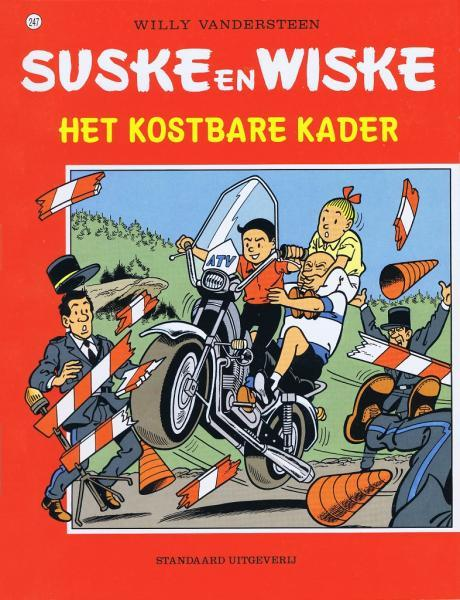 Suske en Wiske 247 Het kostbare kader