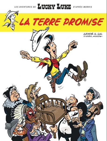 Lucky Luke (Lucky Comics) 7 La terre promise