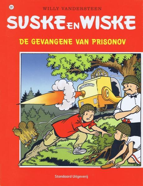 Suske en Wiske 281 De gevangene van Prisonov