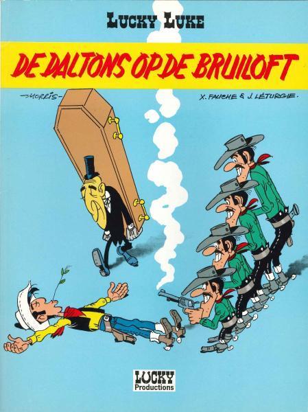 Lucky Luke (Dargaud/Lucky Comics) 32 De Daltons op de bruiloft