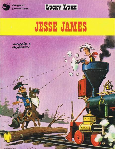 Lucky Luke (Dargaud/Lucky Comics) 4 Jesse James
