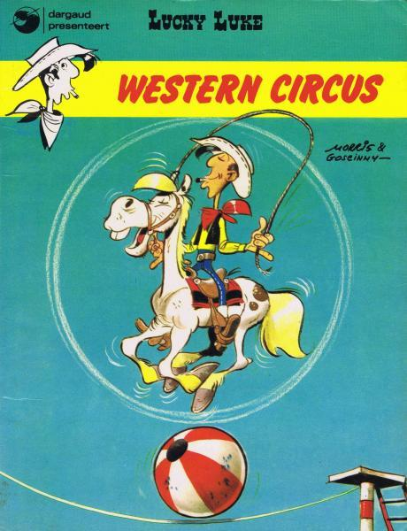 Lucky Luke (Dargaud/Lucky Comics) 5 Western circus