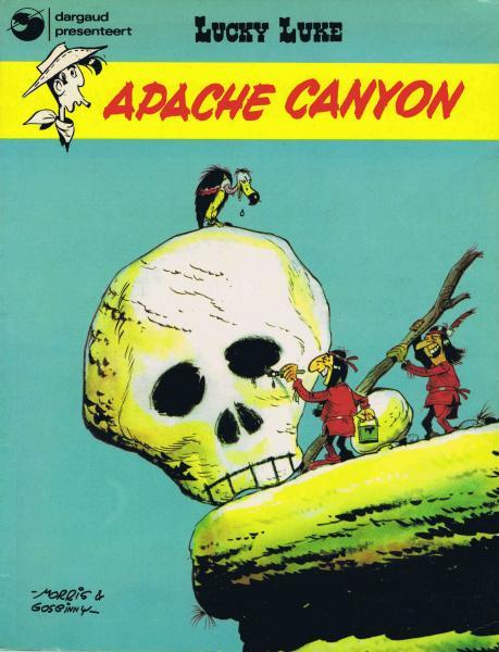 Lucky Luke (Dargaud/Lucky Comics) 7 Apache canyon