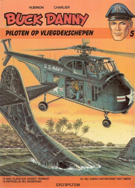 Buck Danny INT 5 Piloten op vliegdekschepen