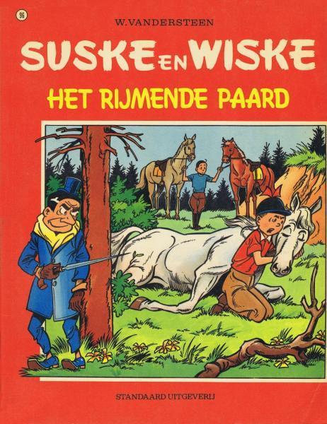 Suske en Wiske 96 Het rijmende paard