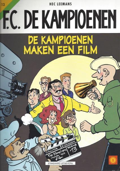 F.C. De Kampioenen 13 De kampioenen maken een film
