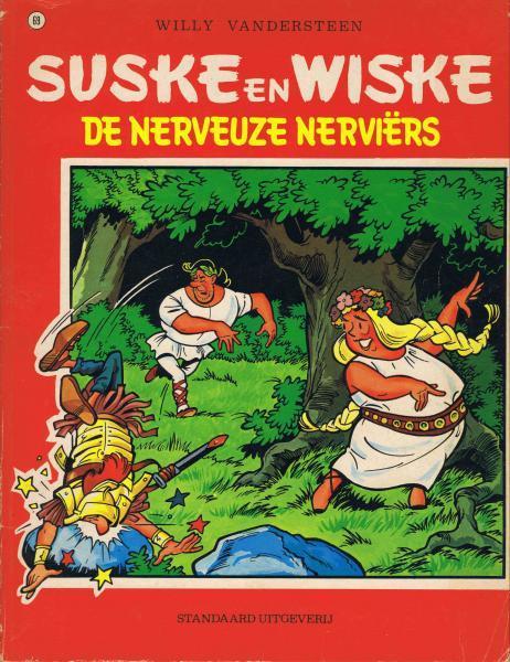Suske en Wiske 69 De nerveuze Nerviërs