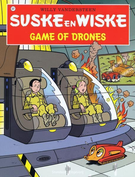 Suske en Wiske 337 Game of drones