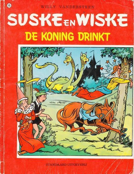 Suske en Wiske 105 De koning drinkt
