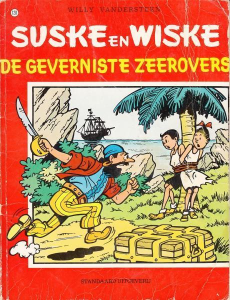 Suske en Wiske 120 De geverniste zeerovers