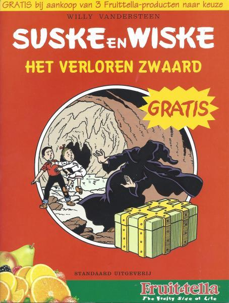 Suske en Wiske (reclame/kortverhaal) 14 Het verloren zwaard