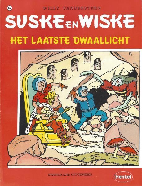 Suske en Wiske 172 Het laatste dwaallicht
