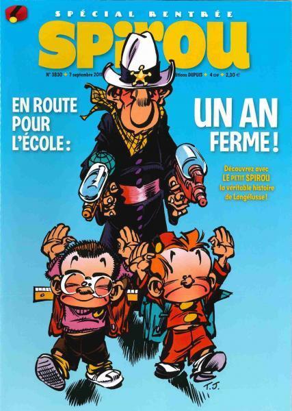 Spirou - Hebdo 2011 (74e année) 3830 Numéro 3830