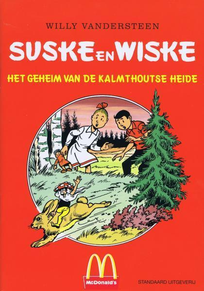 Suske en Wiske (reclame/kortverhaal) 12 Het geheim van de Kalmthoutse Heide