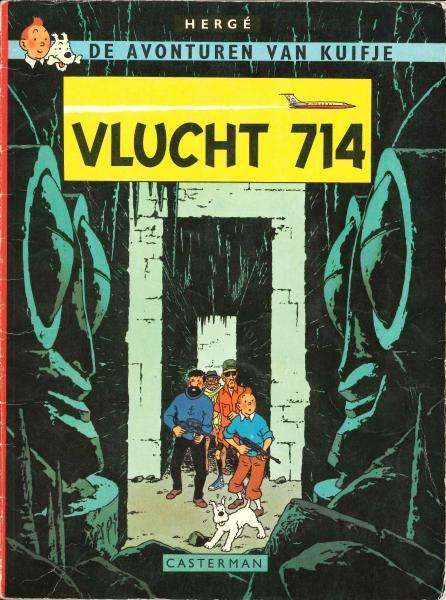 Kuifje 21 Vlucht 714