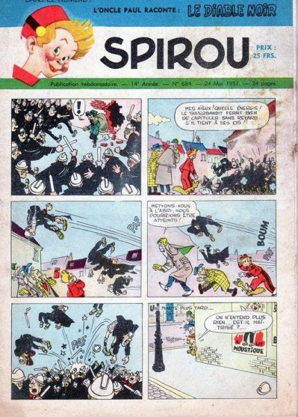 Spirou - Hebdo 1951 (14e année) 684 Numéro 684