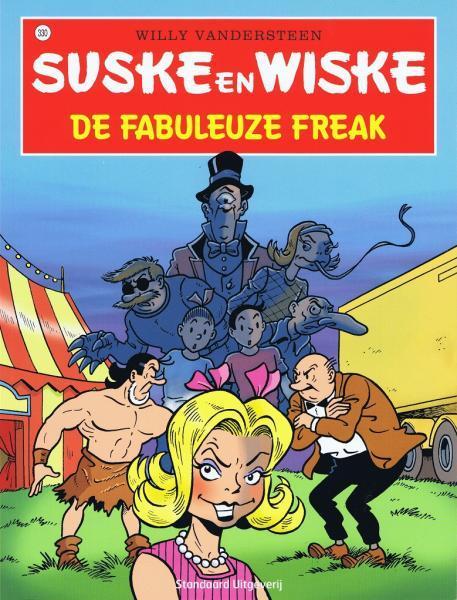 Suske en Wiske 330 De fabuleuze freak