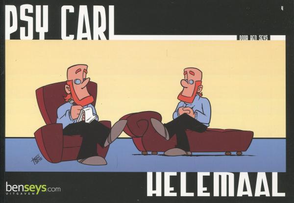 Psy Carl 4 Helemaal op zijn kop