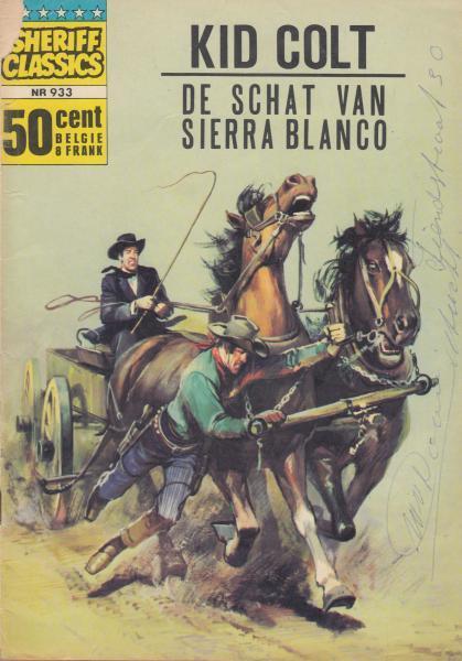 Sheriff classics 33 Kid Colt - De schat van Sierra Blanco
