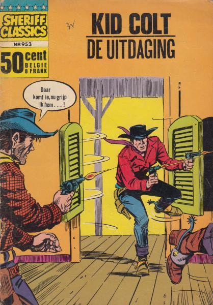 Sheriff classics 53 Kid Colt - De uitdaging