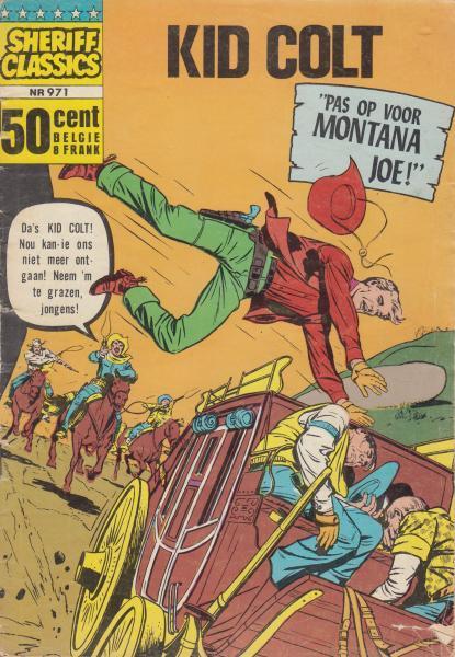 Sheriff classics 71 Kid Colt - Pas op voor Montana Joe!