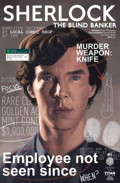 Sherlock: The Blind Banker 1 Issue #1