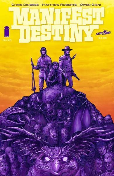 Manifest Destiny 25 Issue #25