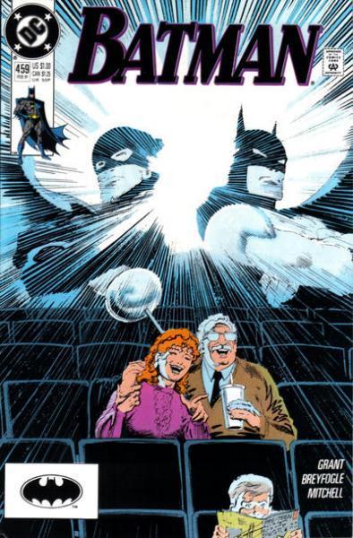 Batman 459 Saturday Night at the Movies