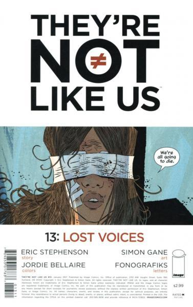 They're Not Like Us 13 Lost Voices