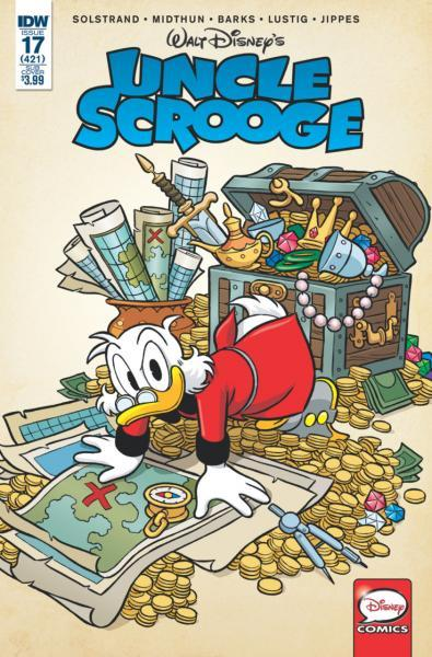 Uncle Scrooge (IDW) 17 Issue #17 (421)