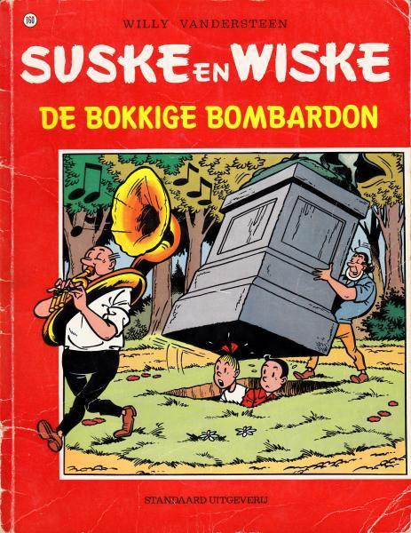 Suske en Wiske 160 De bokkige bombardon