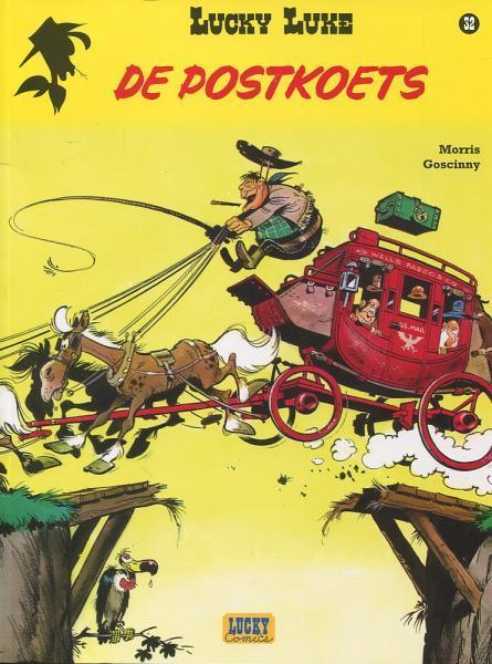 Lucky Luke (Lucky Comics, hernummering) 32 De postkoets