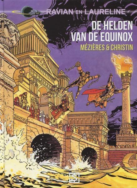Ravian en Laureline (Sherpa) 8 De helden van de equinox
