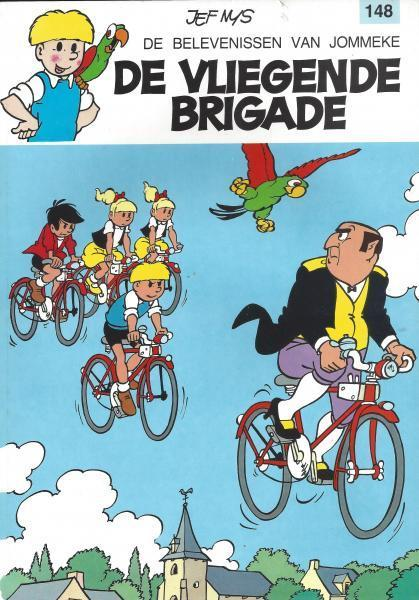 Jommeke 148 De vliegende brigade