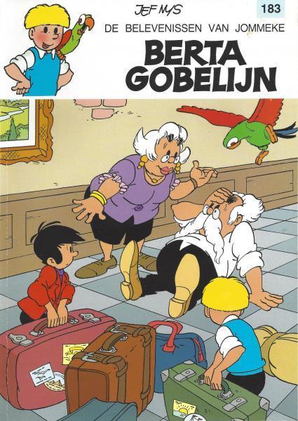 Jommeke 183 Berta Gobelijn