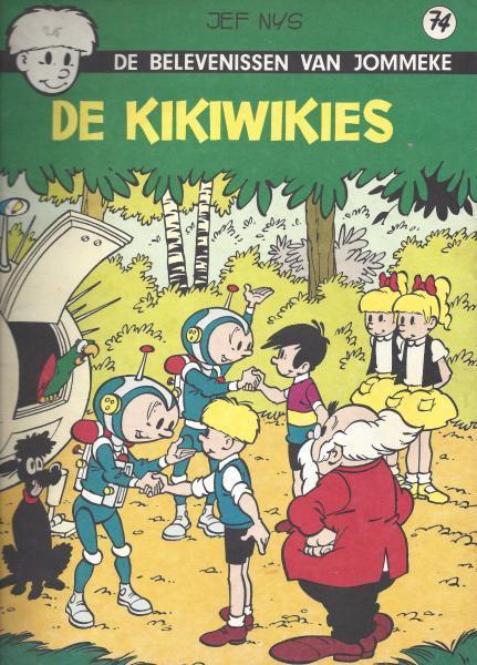 Jommeke 74 De Kikiwikies