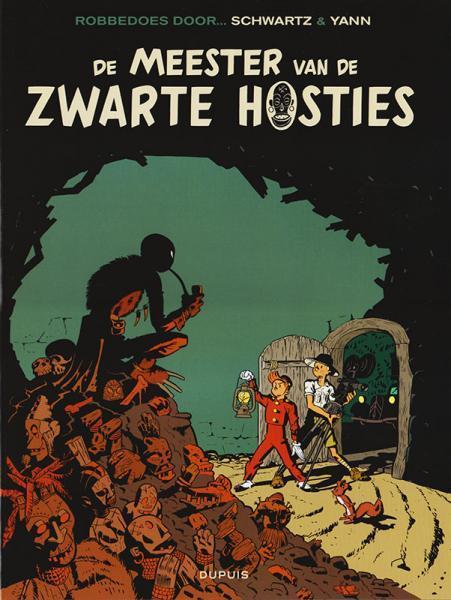 Robbedoes en Kwabbernoot, Een verhaal van 11 De meester van de zwarte hosties