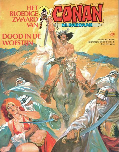 Het bloedige zwaard van Conan de barbaar 20 Dood in de woestijn