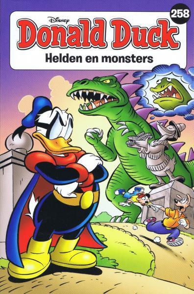 Donald Duck pocket (3e reeks) 258 Helden en monsters