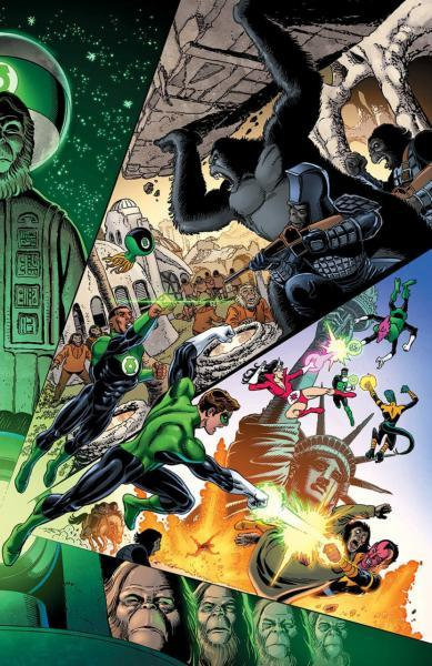 Planet of the Apes/Green Lantern 1 Issue #1