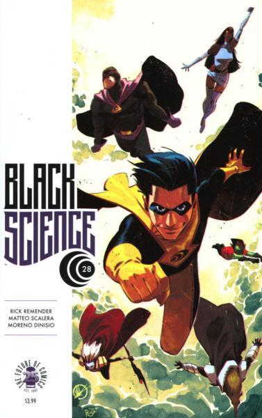Black Science 28 Issue #28