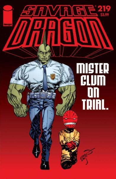 The Savage Dragon A219 Issue #219