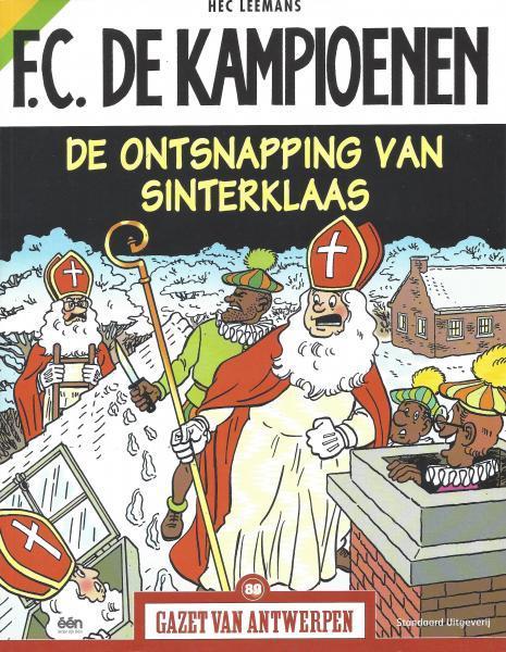 F.C. De Kampioenen 10 De ontsnapping van Sinterklaas