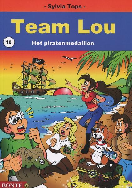Team Lou 10 Het piratenmedaillon