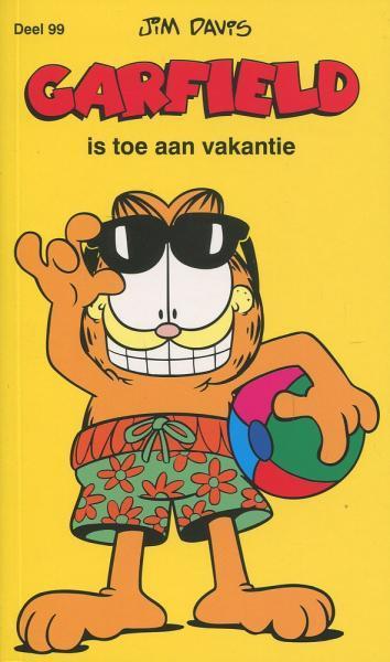 Garfield (Gekleurd/Loeb/De Leeuw) A99 Garfield is toe aan vakantie
