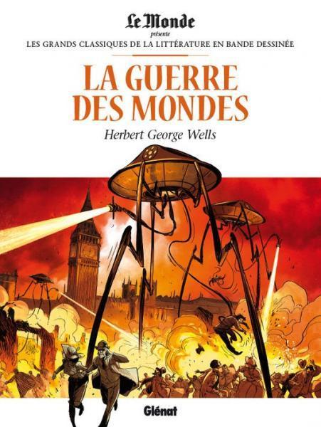 Les grands classiques de la littérature en BD 7 La guerre des mondes