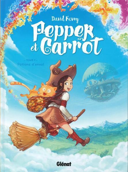 Pepper et Carrot 1 Potions d'envol