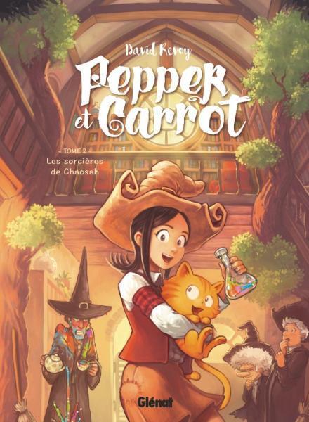 Pepper et Carrot 2 Les sorcières de Chaosah
