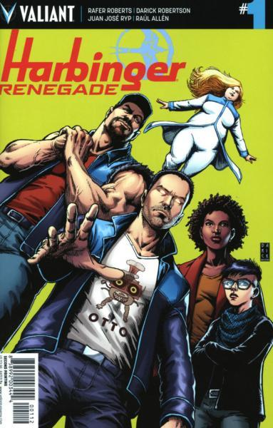 Harbinger Renegade 1 Issue #1